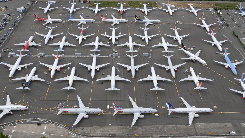 gounded airlines coronavirus