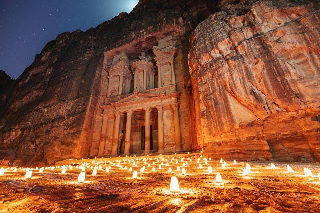 Visit Petra Overnight